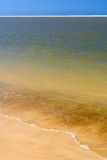 Beach and sandbank Stock Photography