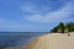 Beach of Sandy Bay in Roatán, Honduras Royalty Free Stock Images