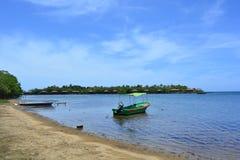 Beach of Sandy Bay in Roatán, Honduras Stock Photos