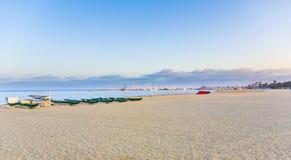 Beach at Santa Barbara Stock Images