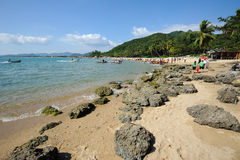 Beach in sanya. Royalty Free Stock Images