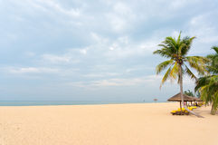 The beach of Sanya Stock Images