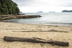 Beach in Sao Sebastiao Royalty Free Stock Photo
