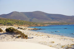 Beach in Sardinia Royalty Free Stock Photography