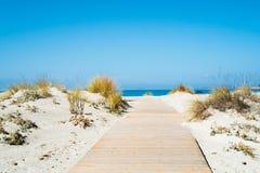 Beach in Sardinia Stock Images