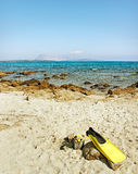 Beach in Sardinia, Italy. Stock Image