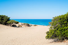 Beach in Sardinia Royalty Free Stock Images