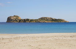 Beach in Sardinia Stock Photography
