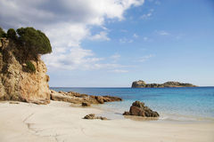 Beach in Sardinia Stock Photos