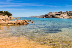 Beach at Sardinia Stock Images