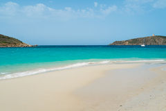 Beach in Sardinia Stock Photo