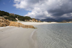 Beach in Sardinia Stock Images