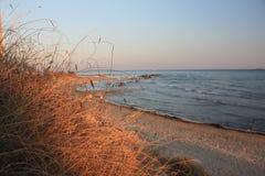 Beach at Scala dei Turchi near Agrigento, Sicily Royalty Free Stock Image