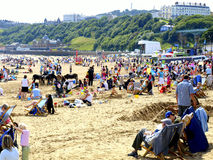 Beach at Scarborough, North Yorkshire Royalty Free Stock Photo