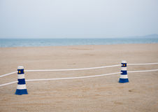 Beach scene Royalty Free Stock Photo