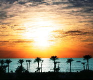 Beach scene Stock Photography