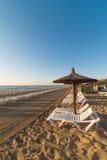 Beach scene in Alicante Royalty Free Stock Photos