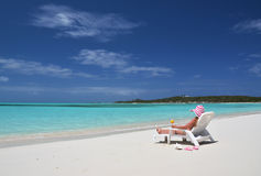 Beach scene, Bahamas Stock Photography