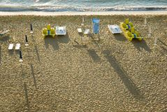 Beach scene, Bulgaria Royalty Free Stock Photo