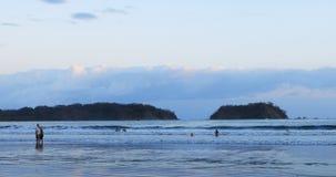 Beach scene in Costa Rica 4K. A Beach scene in Costa Rica 4K stock footage