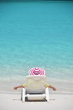 Beach scene, Exuma, Bahamas Royalty Free Stock Photography