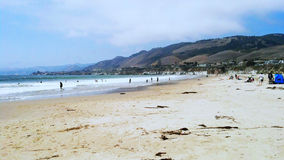 Beach Scene. This photo was taken at Pismo Beach Royalty Free Stock Photography
