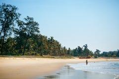 Beach scene showing sand Stock Photo
