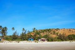 Beach scene showing sand Royalty Free Stock Photos