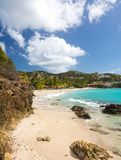 Beach scene St Thomas USVI Stock Image
