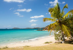 Beach scene St Thomas USVI Stock Photography