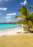 Beach scene St Thomas USVI Stock Images