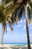 Beach scene - Varadero, Cuba Royalty Free Stock Image