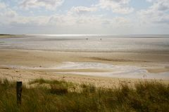 Free Beach Scenery In Summer On The Island Of Sylt, North Frisian Islands, Schleswig-Holstein, Germany. Stock Photos - 161048813