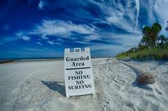 Beach scenes at hunting island south carolina Royalty Free Stock Images