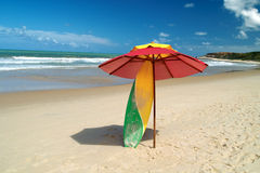 Beach scenic. Brazil stock photos
