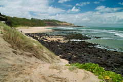 Beach scenic.Praia do Pipa, Brazil Royalty Free Stock Photography
