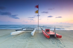Beach scenic, Viareggio, Italy Royalty Free Stock Photography