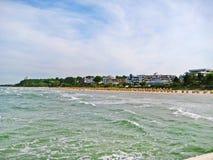 Beach in Scharbeutz, baltic sea, germany Stock Photos