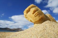 Beach Sculpture Stock Images