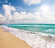 Beach and sea royalty free stock photos