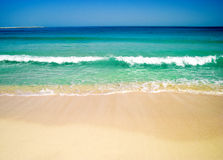 Beach and a sea Royalty Free Stock Images
