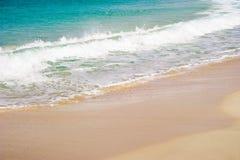 Beach and a sea Stock Image