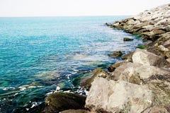 Beach and a sea Stock Photos