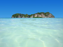 Beach sea Royalty Free Stock Photography