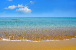 Beach and sea Royalty Free Stock Photos