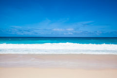 Beach and sea Royalty Free Stock Image