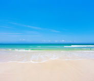 Beach and sea. This is beach and sea Stock Images