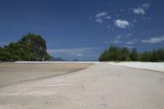 Beach and sea Stock Photography