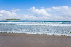 Beach and sea background Royalty Free Stock Image