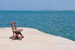 Beach on sea coastline Royalty Free Stock Image